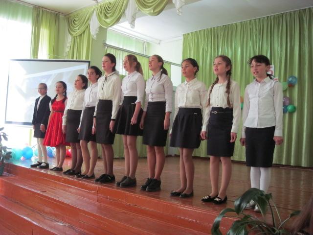 Концерт в средней школе №1